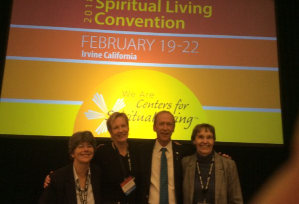 Revs. Kathy, Michael, Lisa as well as Joni at CSL Convention 2018!