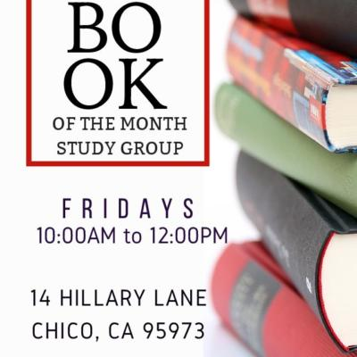 book clubs in Chico, Ca. Love to read?