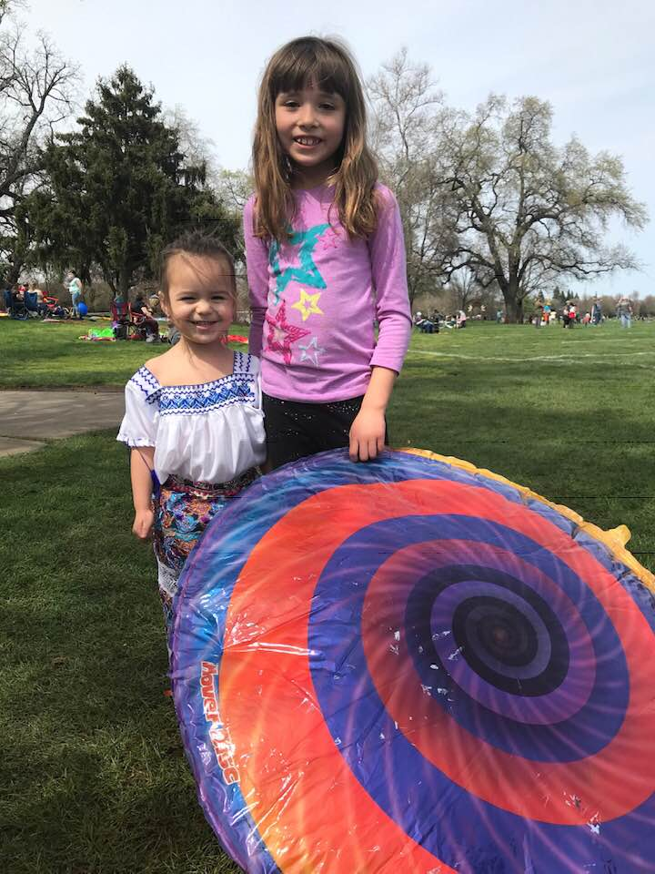 Chico Kite Day with Center for SPiritual Living, Chico
