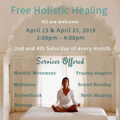 Free spa and therapeutic services in Chico California 2019
