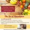 The Art of Abundance flyer