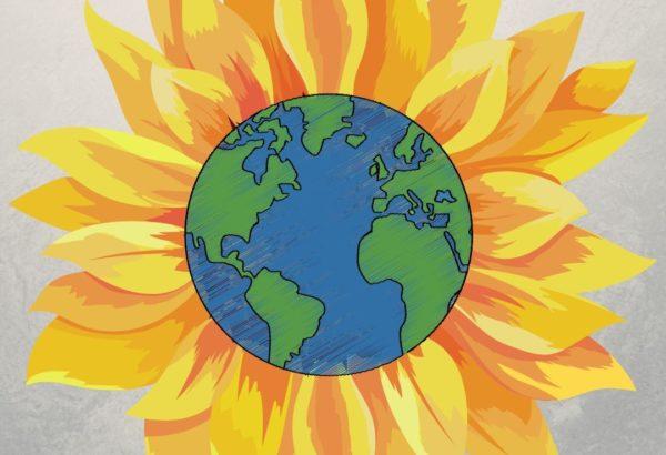 Earth Day Sun flower