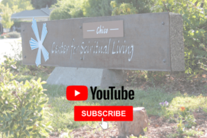 Image for Subscribing to Center for Spiritual Living Chico's online YouTube channel
