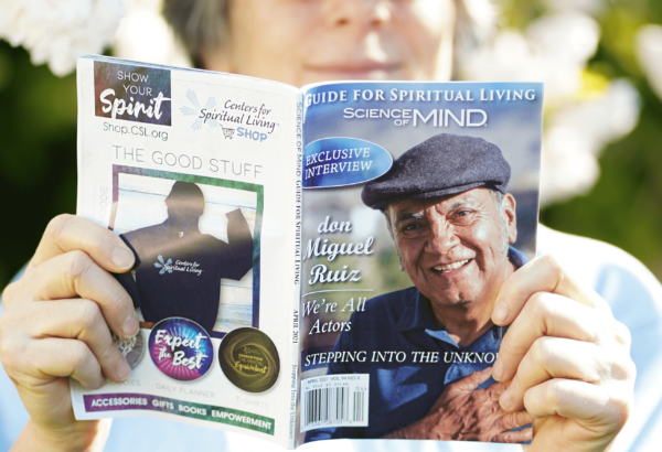 Practitioner with Science of Mind Magazine for April 2021