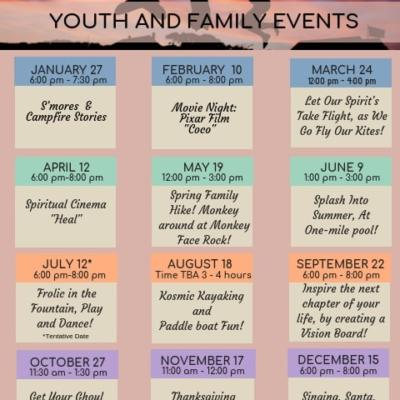 Youth and kids events for families in Chico ca 2019