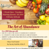 The Art of Abundance flyer