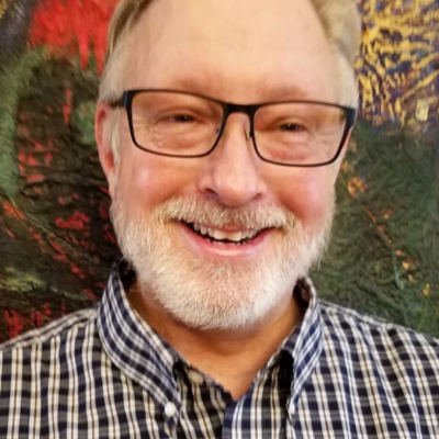 Portrait of John Boyle at Center for Spiritual Living, Chico