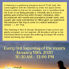 chico meditation event flyer 2020