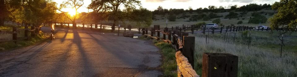 A beautiful photo of Upper Bidwell Park Chico California after a rain storm