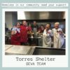 Torres Shelter Seva team volunteers in Chico photo of people smiling
